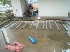 鋼板下地設置 (2)