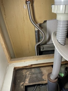 台所床下新規接続 (2)