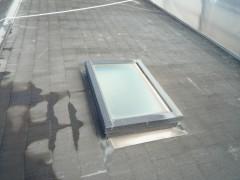 屋根塗装前 (1)