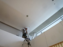 鉄製支柱廻り修理 (1)