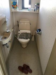 トイレ漏水 (1)